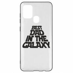 Чехол для Samsung A21s Best dad in the galaxy