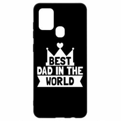 Чехол для Samsung A21s Best dad in the world