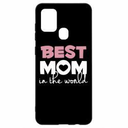 Чохол для Samsung A21s Best mom
