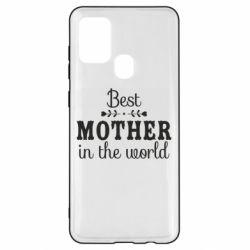 Чохол для Samsung A21s Best mother in the world