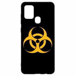 Чехол для Samsung A21s biohazard