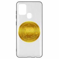 Чохол для Samsung A21s Bitcoin coin