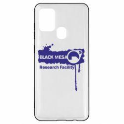 Чехол для Samsung A21s Black Mesa