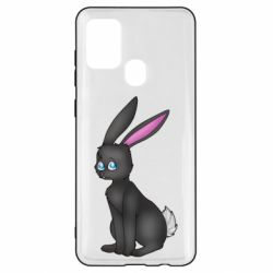 Чохол для Samsung A21s Black Rabbit