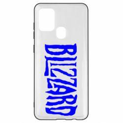 Чохол для Samsung A21s Blizzard Logo