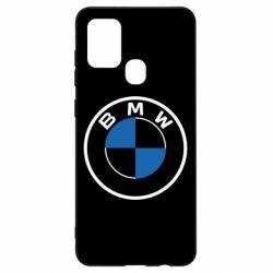 Чохол для Samsung A21s BMW logo 2020