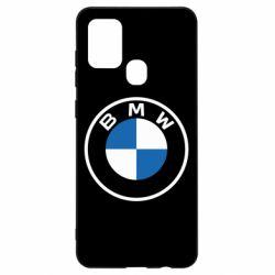 Чохол для Samsung A21s BMW logotype 2020
