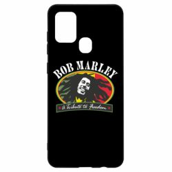 Чехол для Samsung A21s Bob Marley A Tribute To Freedom