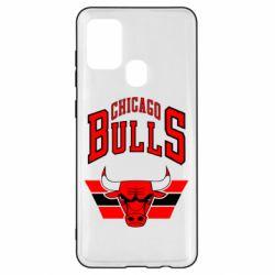 Чохол для Samsung A21s Великий логотип Chicago Bulls