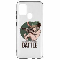 Чехол для Samsung A21s Born For Battle