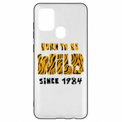 Чохол для Samsung A21s Born to be wild sinse 1984