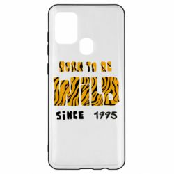 Чехол для Samsung A21s Born to be wild sinse 1995
