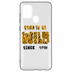Чохол для Samsung A21s Born to be wild sinse 1996