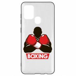 Чехол для Samsung A21s Box Fighter