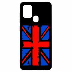 Чехол для Samsung A21s Британский флаг