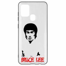Чехол для Samsung A21s Bruce Lee