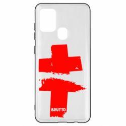 Чехол для Samsung A21s Brutto Logo
