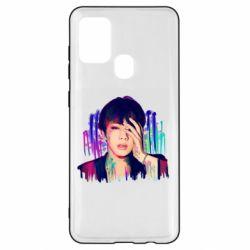 Чехол для Samsung A21s Bts Jin