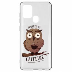 Чохол для Samsung A21s Caffeine Owl