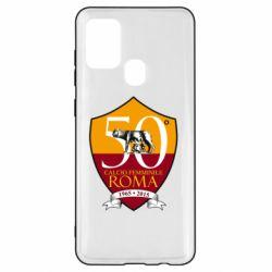 Чохол для Samsung A21s Calcio Femminile Roma