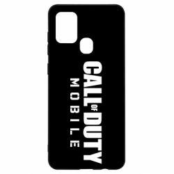 Чехол для Samsung A21s Call of Duty Mobile