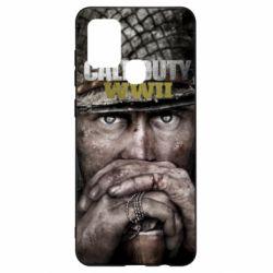 Чехол для Samsung A21s Call of Duty WWII