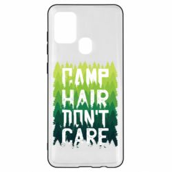 Чехол для Samsung A21s Camp hair don't care