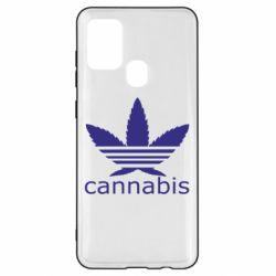 Чохол для Samsung A21s Cannabis