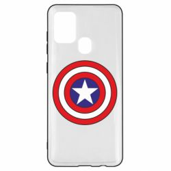 Чехол для Samsung A21s Captain America