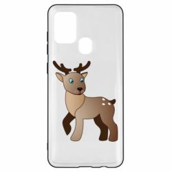 Чехол для Samsung A21s Cartoon deer