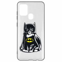 Чохол для Samsung A21s Cat Batman