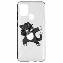 Чохол для Samsung A21s Cat SWAG