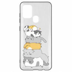 Чохол для Samsung A21s Cats