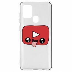 Чохол для Samsung A21s Cheerful YouTube