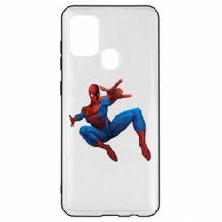 Чохол для Samsung A21s Людина павук