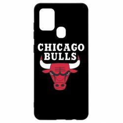 Чехол для Samsung A21s Chicago Bulls Classic