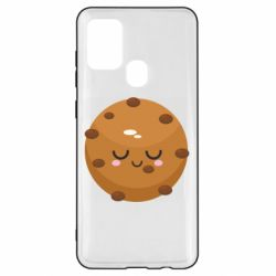 Чехол для Samsung A21s Chocolate Cookies