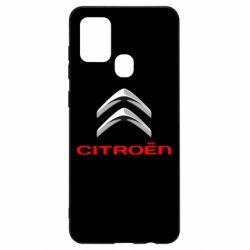 Чехол для Samsung A21s Citroen лого