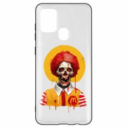 Чохол для Samsung A21s Clown McDonald's skeleton