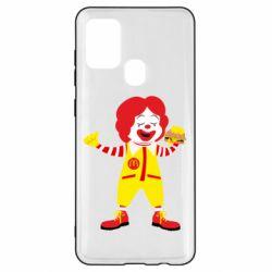 Чохол для Samsung A21s Clown McDonald's