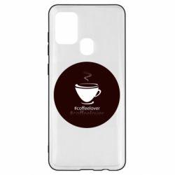 Чехол для Samsung A21s #CoffeLover