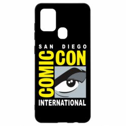 Чохол для Samsung A21s Comic-Con International: San Diego logo