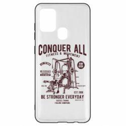 Чохол для Samsung A21s Conquer All