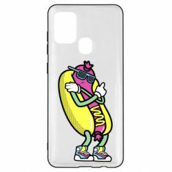 Чохол для Samsung A21s Cool hot dog