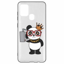 Чохол для Samsung A21s Cool panda