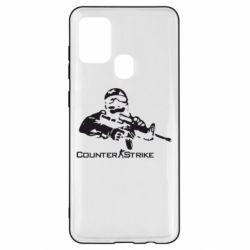 Чехол для Samsung A21s Counter Strike Player