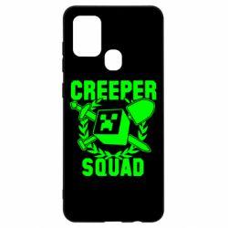 Чохол для Samsung A21s Creeper Squad