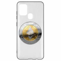 Чехол для Samsung A21s Cryptomoneta