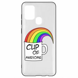 Чехол для Samsung A21s Cup of awesome