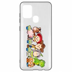 Чохол для Samsung A21s Cute characters toy story